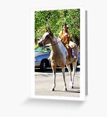 Paiute Pow Wow Parade Greeting Card