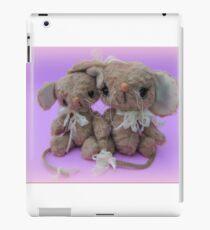 Handmade bears from Teddy Bear Orphans - Molly and Matilda Mice iPad Case/Skin