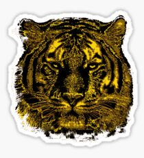 Tiger Face Sticker