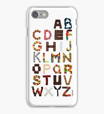Candy Alphabet iPhone Case/Skin