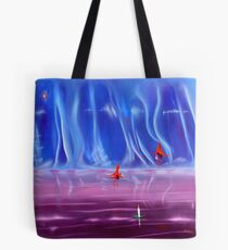 From a flicker to a flame Tote Bag