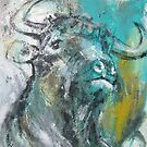 Green Bull by James Kearns