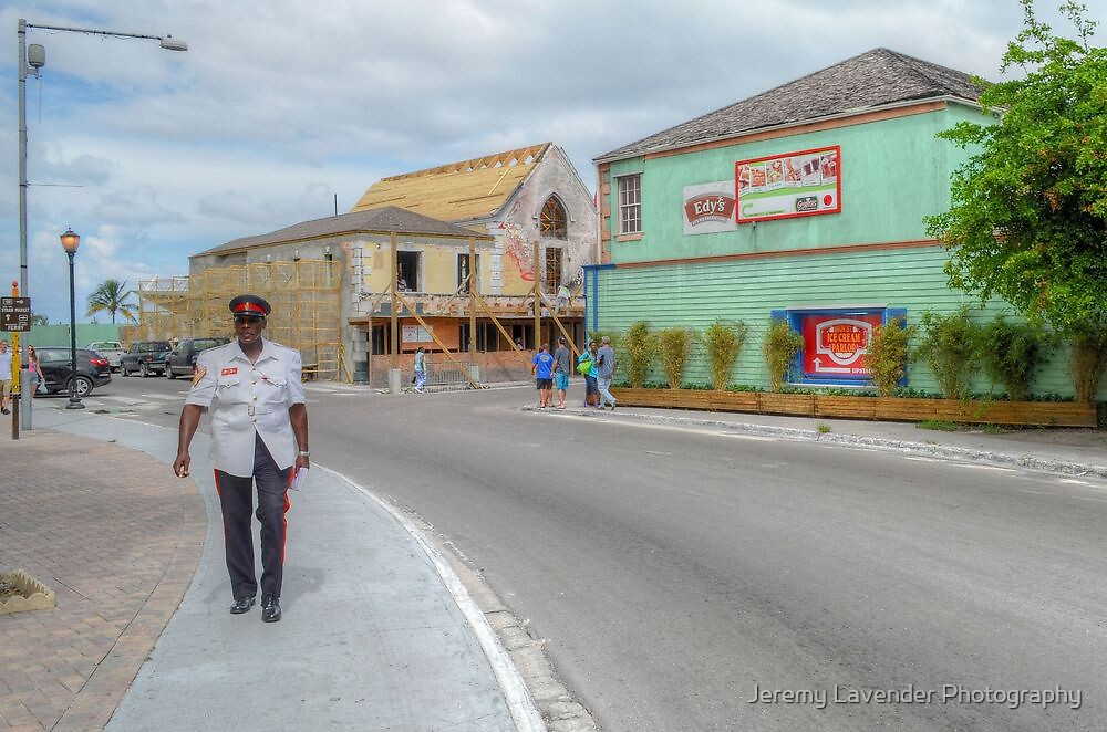 Entering Downtown Nassau from the West side in The Bahamas by Jeremy Lavender Photography
