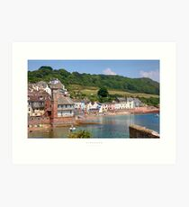 Kingsand, Cornwall Art Print