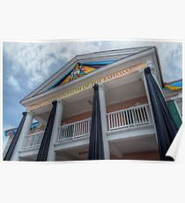 Government House in Nassau, The Bahamas Poster