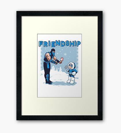 COOL FRIENDSHIP Framed Print