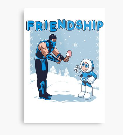 COOL FRIENDSHIP Metal Print