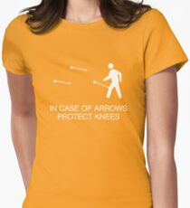 In case of arrows Women's Fitted T-Shirt
