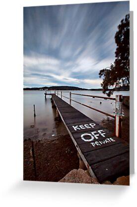 Keep Off - Woy Woy NSW by Malcolm Katon