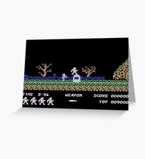 Ghosts 'n Goblins #02 Greeting Card