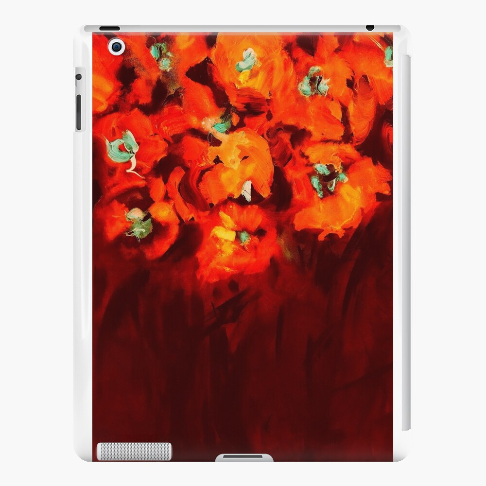 Habibiflo orange iPad Cases & Skins