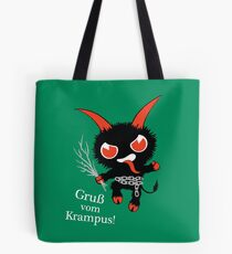 Merry Krampus Tote Bag