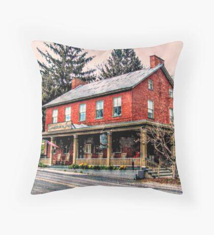 The Cashtown Inn, Haunted Bread and Breakfast  Throw Pillow