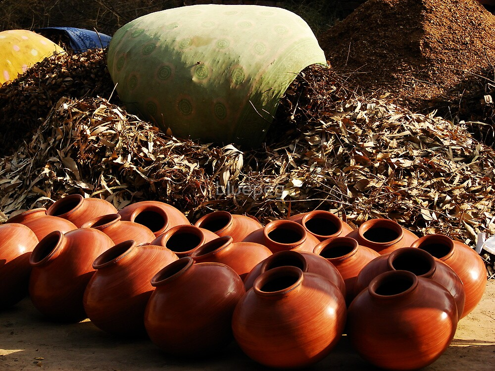 Earthy existence : Artisans' life by bluepeg