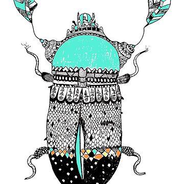 Diamond Cockroach  by milicaziva