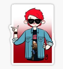 Mike's new hair color (11/19/2015) Sticker