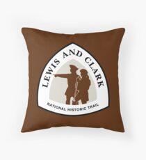 Cojín Lewis and Clark Trail Sign, Estados Unidos