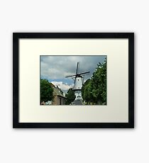 Windmill of Willemstad. Framed Print