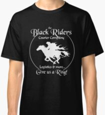 Black Riders Courier Company (white version) Classic T-Shirt