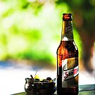 Siesta Time. Beer and Olives by JennyRainbow