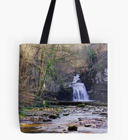 Cauldron Falls, West Burton, Bishopdale, Yorkshire Dales Tote Bag