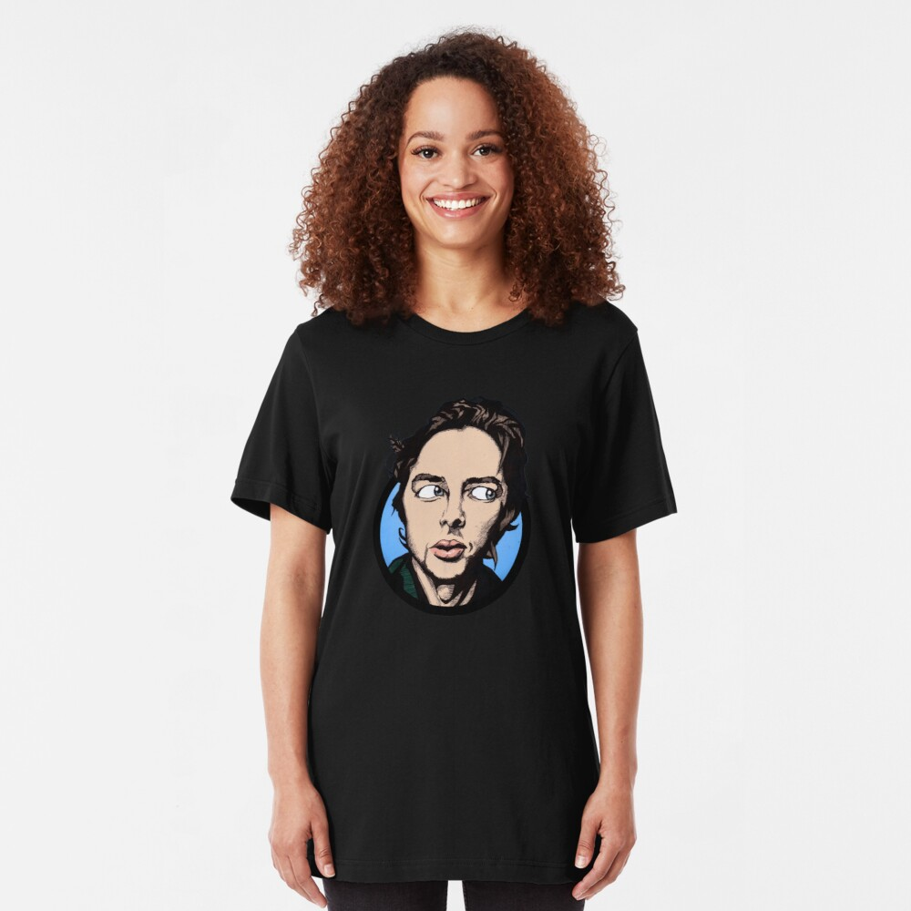 Zach Braff Slim Fit T-Shirt