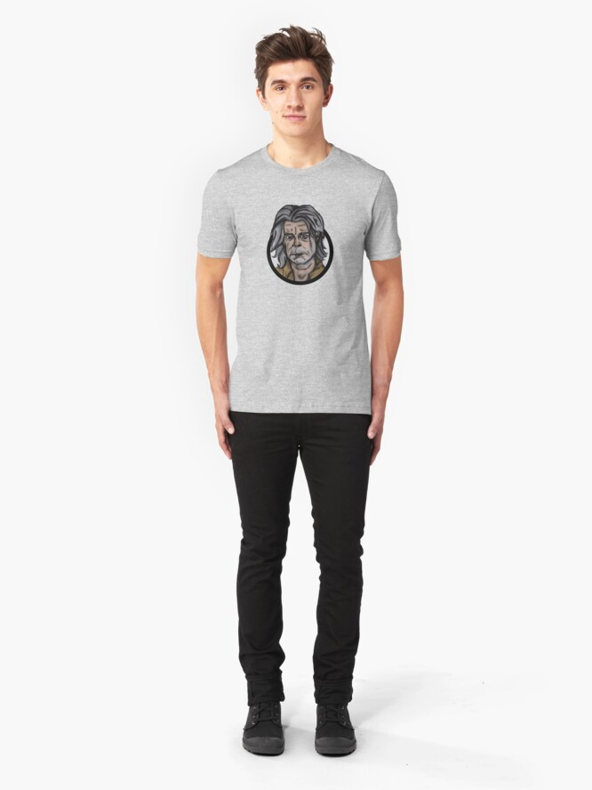 Alternate view of There Are Other Worlds Slim Fit T-Shirt
