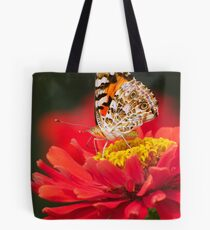 PAINTED LADY IN RED -II- Tote Bag