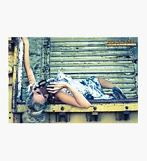 steampunk foil Photographic Print