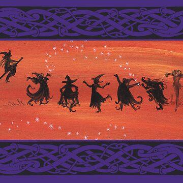 Witchy Halloween Celebration. by katemccredie