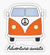 Adventure Campervan Sticker