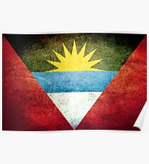 Antigua and Barbuda - Vintage Poster