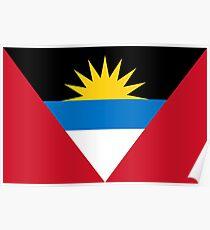 Antigua and Barbuda - Standard Poster
