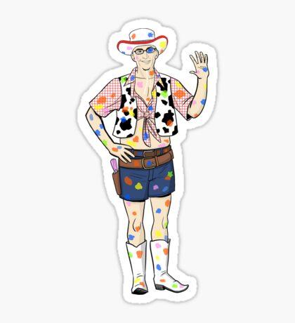 Paintball Dean Sticker