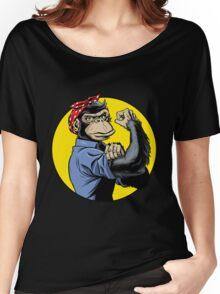 Chimp Power! Women's Relaxed Fit T-Shirt