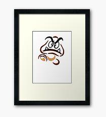 Goomba with Attitude Framed Print