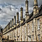 Row of houses by Asrais