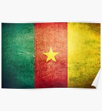Cameroon - Vintage Poster