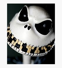 I Jack, the pumpkin king Photographic Print