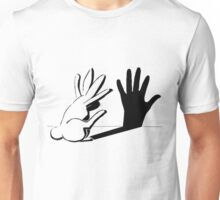 Shadow Rabbit http://www.lightillusion.com Unisex T-Shirt