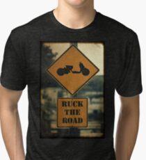 Ruck the Road Tri-blend T-Shirt