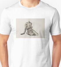 Seated Woman Figure T-Shirt
