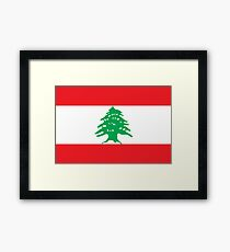 Lebanon - Standard Framed Print