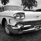 White Caddy in black and white by GWGantt