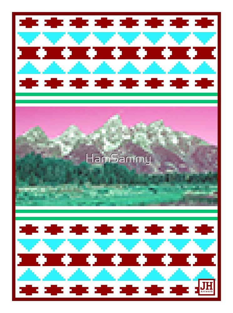 8-Bit Mountains by HamSammy