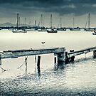 Corio Bay on a lazy Sunday afternnoon by Mick Kupresanin