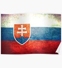 Slovakia - Vintage Poster