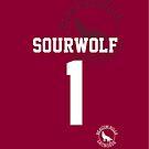 "Derek ""SOURWOLF 1"" Hale Lacrosse Jersey [ iPHONE ] by kinxx"
