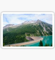 Austria, Zillertal High Alpine nature Park landscape Sticker