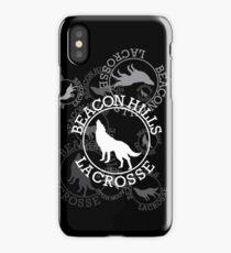 Beacon Hills Lacrosse Team Logo - V1 iPhone Case/Skin